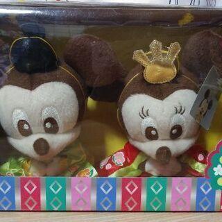 【再値下げ!】ミッキーとミニーの雛人形風ぬいぐるみ♪