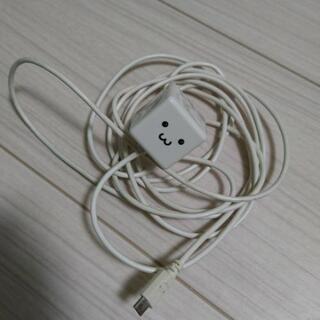 エレコム携帯充電器 タイプB コンセントプラグ