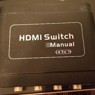 HDMIセレクター 4to1 switch