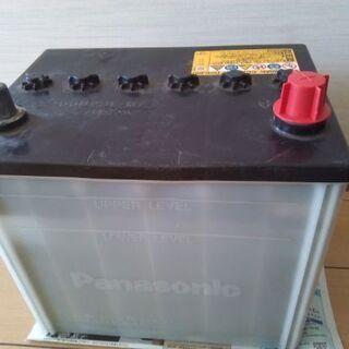 「中古」Panasonic車バッテリー55D23L-MF