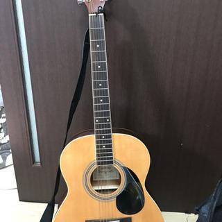 (取引中)アコースティックギター カバー付き ほぼ未使用