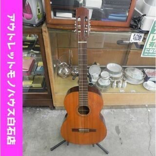 中古 ZEN-ON ガットギター MODEL50 クラシックギタ...