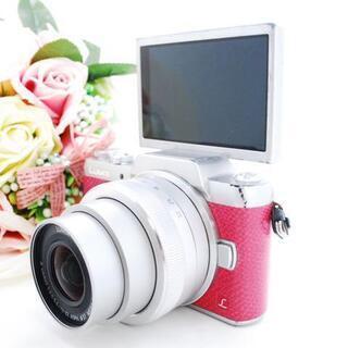 ★全国発送対応★【可愛すぎるピンクカメラ!】LUMIX DMC-...