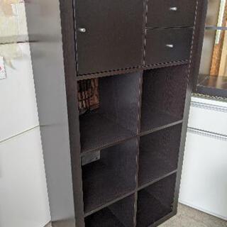 イケア IKEA カラックス KALLAX オープンラック シェ...