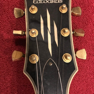 EDWARDS ギター ブラック