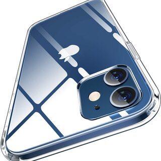 【新品・未使用】iPhone12 クリアケース