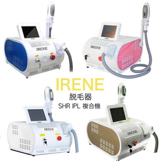 IRENE 業務用脱毛器 家庭用可 30万ショット 高性能…