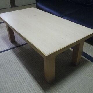 Oliver オリバー 和家具 座卓 折りたたみテーブル