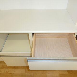 格安☆k46☆食器棚・レンジボード☆幅900㎜☆近隣配達、設置可能  - 売ります・あげます