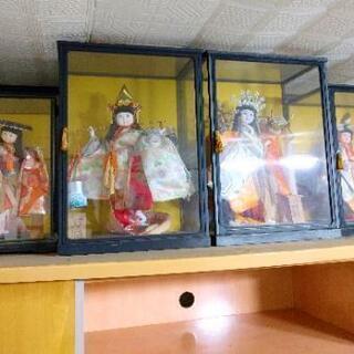 状態良好!日本人形 4個セット