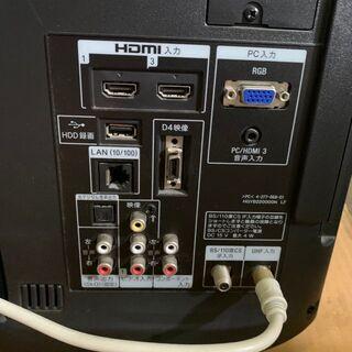 2012年製 SONY BRAVIA 22インチ液晶テレビ KDL-22EX42H 通電確認済 配送OK リモコン付属 - 売ります・あげます