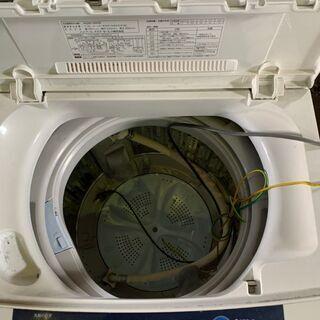 2014年製 AQUA 6.0kg洗濯機 AQW-S60B 通電確認済 配送OK 格安 早いもの勝ち - 家電