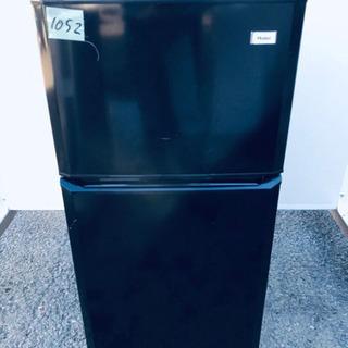 1052番 Haier✨冷凍冷蔵庫✨JR-N106H‼️
