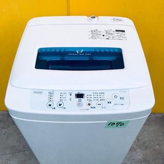 ✨高年式✨1070番 Haier✨全自動電気洗濯機✨JW-K42K‼️の画像
