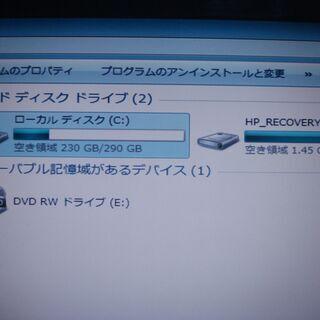 【値下げしました】HPノートPC Windows7 /バソコン ...