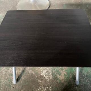 ☆ニトリ折り畳みコンパクトテーブル高さ35☆