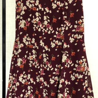 ケティ 花柄 フレアスカート