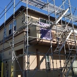 屋根、足場、塗装職人募集!!