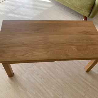 【ネット決済】無印良品 ローテーブル デスク