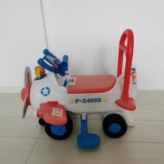 車のおもちゃ(飛行機タイプ)