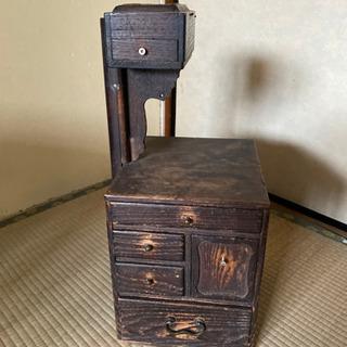 昔の裁縫箱