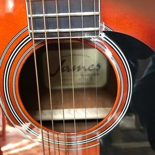 値下げしました! JAMES JF350WB 美品 ソフトケース ギタースタンド クロス ミュート ピック無料プレゼント - 楽器