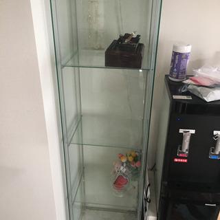 【ネット決済】ガラスの棚