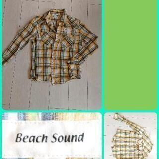 ビーチサウンド ネルシャツ