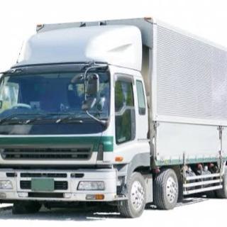 大型トラックの運送ドライバー募集中!!
