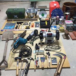 【DIYやモノづくりをされる方へ!】いろいろな工具・道具あります...