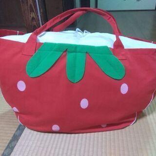 お昼寝用のお布団セットと布団袋です。値下げしました。 - 子供用品