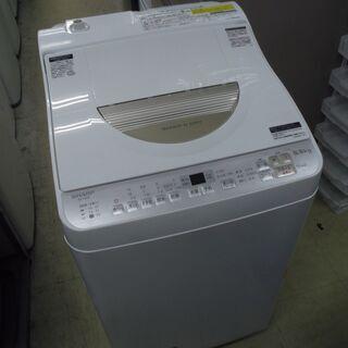 【リサイクルショップどりーむ荒田店】4808 シャープ 洗濯乾燥...