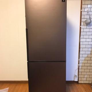 シャープ ノンフロン冷凍冷蔵庫 271L 2ドア