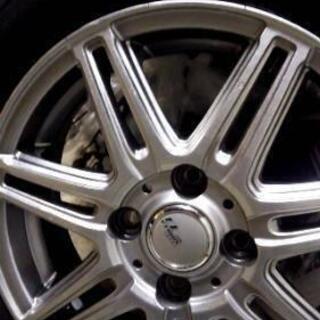 スタッドレスタイヤ、タイヤ新品、ホイール中古