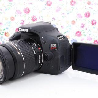 【お得なWiFiセット!★】動画も撮れる Canon eos k...