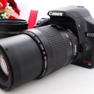 ★全国発送対応★WiFiセット!Canon EOS kissX3...