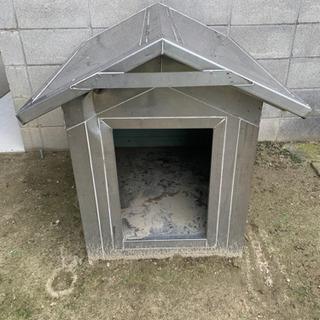 手作り犬小屋(ステンレス製)