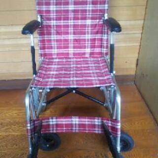 車椅子  背部分折り畳み