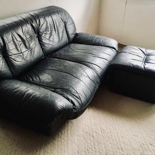 本革Low sofa & ottoman‼️