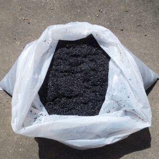 自家製のモミ殻くん炭 No.5 (おまけ付きです)