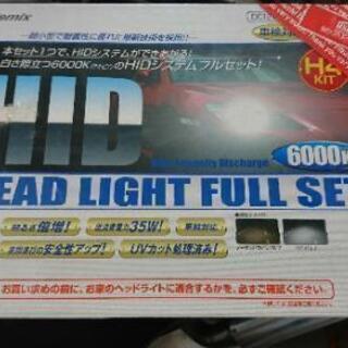 HIDヘッドライト  H4の画像