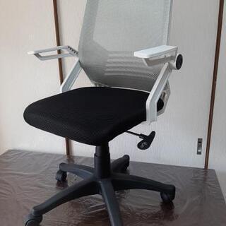 オフィスチェア (新品/未使用)メッシュバック 不可動 ロッキング可能