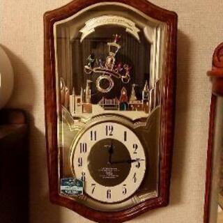 予約済み    からくり時計  SEIKO