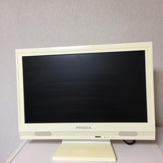 (値下げ)2500→2000液晶カラーテレビ(16型?)