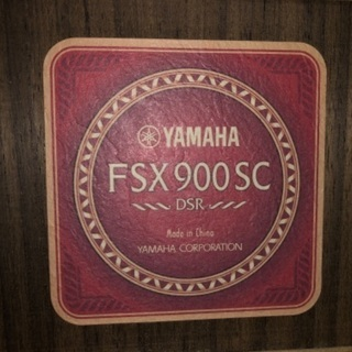 YAMAHA エレアコギター FSX900SC - 楽器
