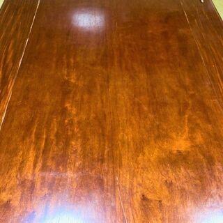 ★お取引中・USED・150㎝×90㎝×33㎝!脚が折り畳み可能・木製の座卓★ − 山口県