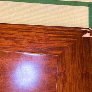 ★お取引中・USED・150㎝×90㎝×33㎝!脚が折り畳み可能・木製の座卓★ - 売ります・あげます