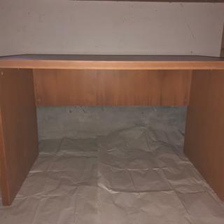 無印良品の木製机