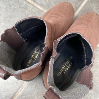 ショートブーツ サイドゴアブーツ - 靴/バッグ