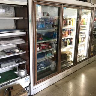 コンビニ 商業用 冷蔵庫一式 サンヨー